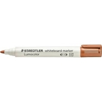 Staedtler Whiteboard Marker 351-7  Bullet Point Brown BX10