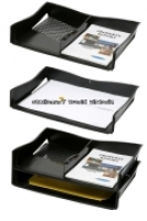 Marbig Enviro A3 Document Tray Stackable 86610 Black