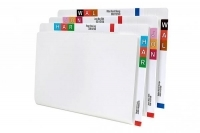 Avery Lateral File Twin Tab Fcap White BX100 46555