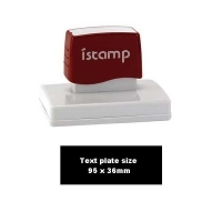 iSTAMP Pre-Inked Laser Stamp iS27 95x36mm