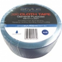 Stylus 399 Cloth Binding Tapes (Pack 8 rolls) 48mm x 25Mt Blue
