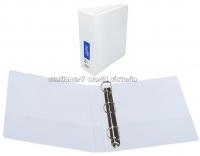 Bantex Insert Binder A4 3D 65mm (500page) White