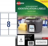 Avery L7914 Ultra-Resistant Outdoor Labels PK10sh 8/sh