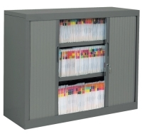 TAMBOUR CABINET PACKAGE 3 LEVEL Graphite Ripple