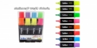 Artline Vivix Liquid Highlighters Wallet 8 Assorted