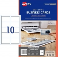 AveryBusiness Cards L7414 PK20 Matt 150gsm