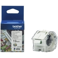 Brother CZ1003 Cassette White Label Roll 19mm wide x 5Mt long