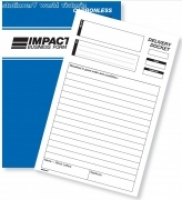 Delivery Docket Book Duplicate A5 Carbonless Impact CS530