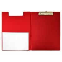 Bantex Clipboard Clipfolder A4 PVC 4240-09 Red