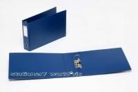Bantex Lever Arch Binder A3 Oblong 65mm (500p) 1468-A01 Blue