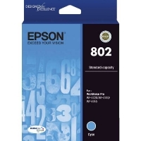 Epson Ink Cartridge 802 Cyan