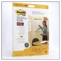 Post It 566 Wall Pad White 20sheets/pad 508x584mm PK2