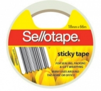 Sellotape Packaging Tape 700 Sticky 18mm x 66M (Pack 8 rolls)