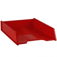 Document Tray Italplast Stackable i60 (Standard) Red