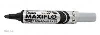 Pentel Maxiflo Whiteboard Marker MWL5A Black
