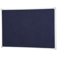 Quartet Penrite Felt Pinboard Blue 1200x900 QTNFF1209B