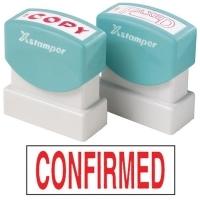 XSTAMPER STAMP - Confirmed (Red) 1543 (5015432)