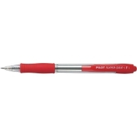 Pilot Supergrip Retractable Pen BPGP10R 0.7 Fine Red BX12