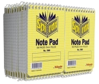 Spirax Notebook 560 112x77mm 96page Pocket TopOpen PK40