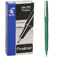 Pilot Fineliner Marking Pen (SW-PPF) 600404 (0.4mm) BX12 Green