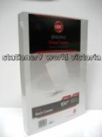 GBC BINDING COVERS A4 Gloss Card PK100 250gsm White