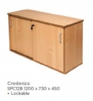 Rapid Span Credenza W1800x H730xD450mm Beech