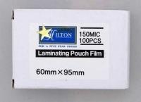 Hilton Laminating Pouch 60x95 BX100 150micron