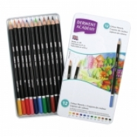 Derwent Academy Pencils Colour tin12 2301937