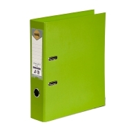 MARBIG PE LINEN LEVER Arch File A4 Lime