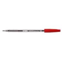 Artline Smoove Ballpoint Stick Pens 1.0mm Medium BX12 Red