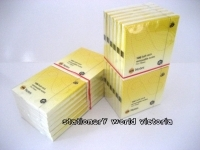 Marbig Stick On Notes 1810305 75x75mm Yellow PK12