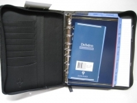 Dayplanner Desk Edition 7Ring Organisers PU Black DK2299
