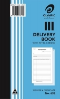 Delivery Book Duplicate 200x125 100LF Olympic 633