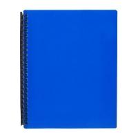Marbig A4 Refillable Display Book 20pocket 2007001 Blue
