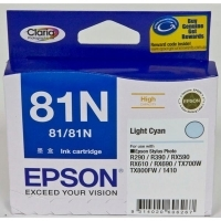 Epson Ink Cartridge 81N High Capacity Lt Cyan