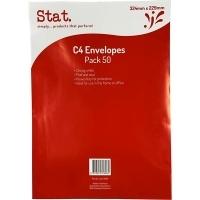 Stat Envelope 229x162 C5 PNS Heavy Duty White Pack of 50