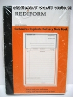 Delivery Book Duplicate Rediform Carbonless SRB206
