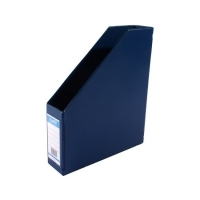 Bantex Magazine File Holder 4010-01 PVC 64mm Blue