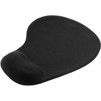 Italplast i14 Mouse Pad With Gel Wrist Support Black