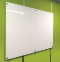 Visionchart Lumiere Magnetic Glassboard White 1200x600