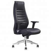 Boston High Back Executive Black PU Chair