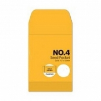 Cumberland Envelope 107x60 P4 Seed MoistSeal Gold 85g BX1000