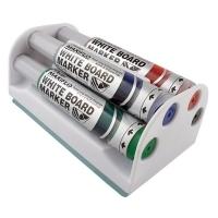 Pentel Maxiflo Whiteboard Eraser & Marker Set YMW54E