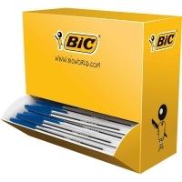 BIC CRISTAL XTRALIFE BALLPOINT PENS 896039 BX100 Med Blue