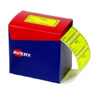 Avery Dispenser Label 75x36.1mm PK2000 Printed HOLD