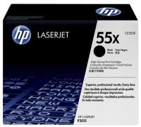 HP Toner 55X CE255X Black HiCapacity