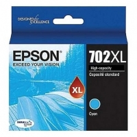 Epson Ink Cartridge 702XLC Cyan