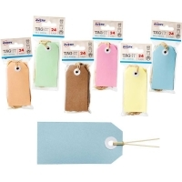 AVERY TAG-IT DURABLE TABS Shipping Tag Size 3 PK24 Pastel Blue