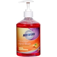 Northfork Liquid Hand Wash Antibac Orange Fragrance 500ml PK12