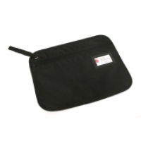 Marbig Convention Satchel Zippered Fabric 9009302  Black